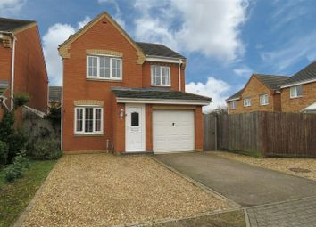 Thumbnail 3 bed detached house for sale in Snowdrop Walk, Biggleswade