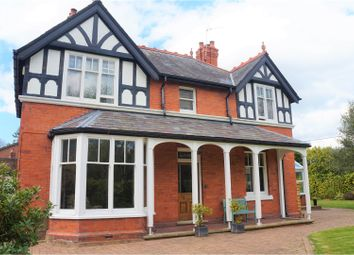 Thumbnail 4 bed detached house for sale in Bronygarth Road, Oswestry