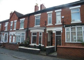 Thumbnail 3 bed terraced house for sale in Lawton Street, Crewe, Cheshire