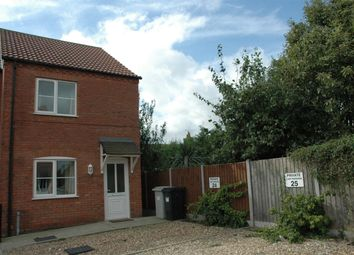 Thumbnail 2 bed semi-detached house to rent in Old School Mews, Spilsby
