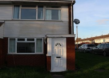 Thumbnail 3 bed end terrace house to rent in Chepstow Road, Walsall