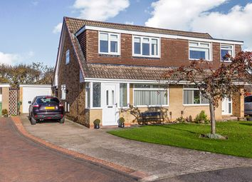 Thumbnail 3 bed semi-detached house for sale in Chatsworth Court, Stockton-On-Tees