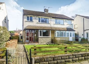 Thumbnail 3 bed semi-detached house for sale in Stead Road, Bradford
