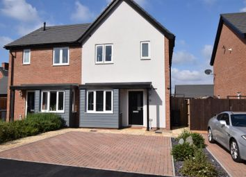 Thumbnail 2 bed semi-detached house for sale in Satchwell Place, Ibstock