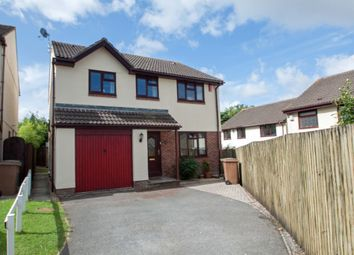 Thumbnail 4 bed detached house for sale in Oak Drive, Crownhill, Plymouth