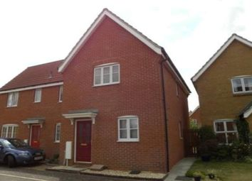 Thumbnail 2 bed semi-detached house to rent in Milton Way, Downham Market