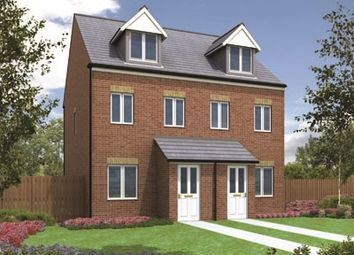 "Thumbnail 3 bedroom end terrace house for sale in ""The Souter"" at Richmond Lane, Kingswood, Hull"