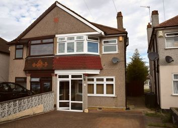 Thumbnail 3 bed semi-detached house to rent in Hallford Way, Dartford