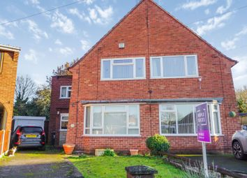 Thumbnail 3 bed semi-detached house for sale in Kirkstone Crescent, Wombourne, Wolverhampton