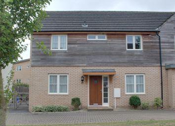 Thumbnail 3 bed semi-detached house for sale in Newington Gate, Ashland, Milton Keynes