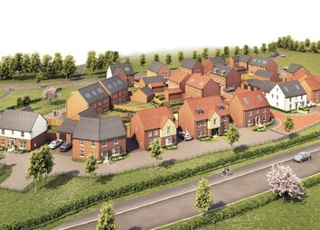 "Thumbnail 5 bed detached house for sale in ""Henley"" at Newton Lane, Wigston"