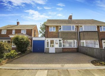 Thumbnail 3 bed semi-detached house for sale in Ludlow Drive, Whitley Bay, Tyne And Wear