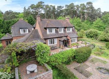 Thumbnail 7 bed detached house for sale in Chertsey Road, Windlesham, Surrey