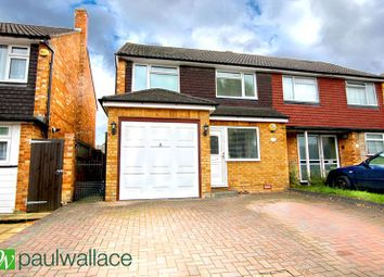 Thumbnail 3 bed semi-detached house for sale in Prospect Road, Cheshunt, Waltham Cross