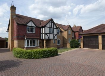 Thumbnail 5 bedroom detached house for sale in Gretton Close, Botolph Green, Orton Longueville, Peterborough