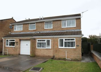 Thumbnail 3 bed semi-detached house for sale in Windsor Close, Clevedon