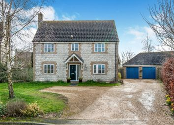 Thumbnail 4 bed detached house for sale in Ventura Close, Methwold, Thetford