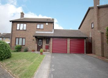 Thumbnail 4 bed detached house for sale in Wyken Close, Luton