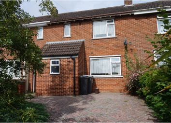 Thumbnail 2 bedroom terraced house for sale in Creasey Road, Bournemouth