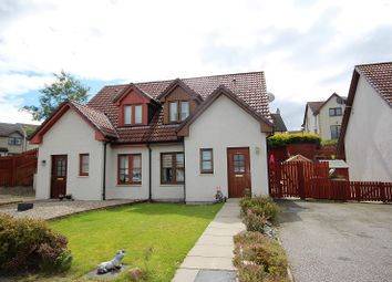 Thumbnail 2 bed semi-detached house for sale in 16 Woodside Brae, Westhill, Inverness