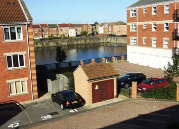 Thumbnail 2 bedroom flat for sale in Lock Keepers Court, Victoria Dock, Hull