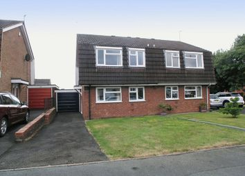 Thumbnail 2 bed semi-detached house for sale in Brierley Hill, Quarry Bank, Coxcroft Avenue