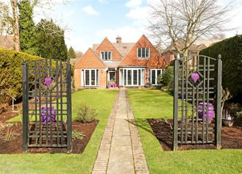 Thumbnail 5 bed detached house for sale in Linersh Wood Close, Bramley, Guildford, Surrey