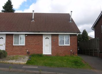 Thumbnail 1 bed semi-detached bungalow to rent in Snowdon Way, Oxley, Wolverhampton