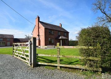 Thumbnail 4 bed detached house for sale in Drury Lane, Tybroughton, Whitchurch, Shropshire