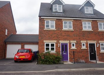 Thumbnail 4 bed semi-detached house for sale in Wyedale Way, Newcastle Upon Tyne