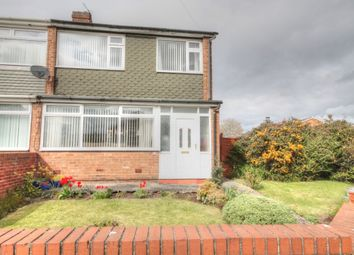 Thumbnail 3 bedroom semi-detached house to rent in Mapperley Drive, Dumpling Hall, Newcastle Upon Tyne