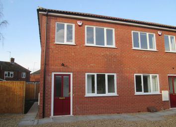 Thumbnail 2 bedroom terraced house to rent in Seabank Road, Wisbech