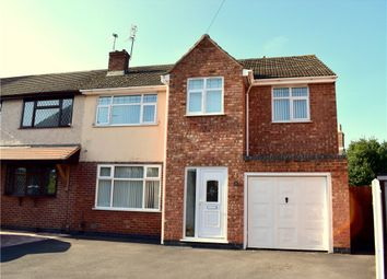 Thumbnail 4 bed semi-detached house for sale in Stafford Close, Bulkington, Bedworth, Warwickshire