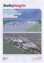 Thumbnail Warehouse to let in Bretby Heights, Bretby Business Park, Ashby Road East, Burton Upon Trent, Staffordshire