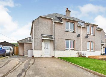 Thumbnail 3 bed semi-detached house for sale in Stair Street, Drummore, Stranraer, Dumfries And Galloway