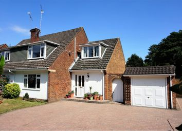 Thumbnail 3 bed semi-detached house for sale in Fernhill Road, Farnborough