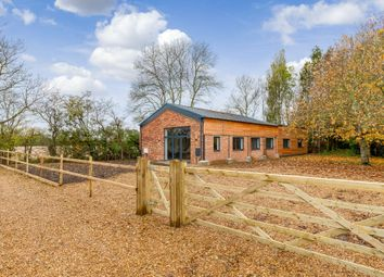 Thumbnail 3 bed barn conversion for sale in Parkhall Road, Somersham, Huntingdon