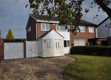 Thumbnail 3 bed semi-detached house for sale in Primrose Close, Huntington, Chester