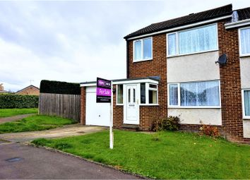 Thumbnail 3 bed semi-detached house for sale in Russell Court, Newton Aycliffe