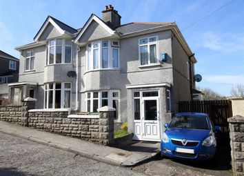 Thumbnail 3 bed semi-detached house for sale in Brynmoor Close, Higher Compton, Plymouth