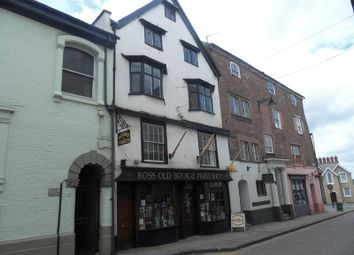 Thumbnail 3 bed flat to rent in High Street, Ross-On-Wye
