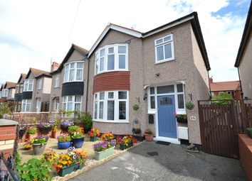 Thumbnail 3 bed semi-detached house for sale in Lake Avenue, Rhyl