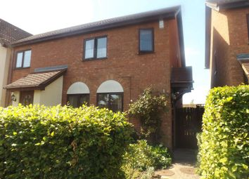 Thumbnail 3 bedroom terraced house to rent in Lindisfarne Close, Eynesbury, St. Neots