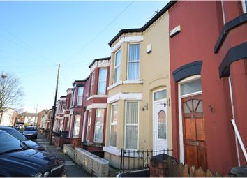 Thumbnail 3 bed terraced house to rent in Chelsea Road, Liverpool