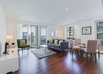 Thumbnail 2 bed flat for sale in Talisman Tower, Lincoln Plaza, Canary Wharf