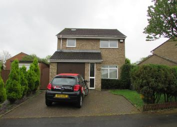Thumbnail 3 bed detached house to rent in Bracken Drive, Rugby