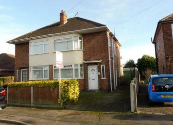 Thumbnail 3 bedroom semi-detached house for sale in Rosedale Avenue, Alvaston, Derby, Derbyshire