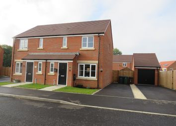 Thumbnail 3 bed semi-detached house for sale in Spelman Way, Narborough, King's Lynn