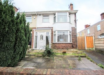 Thumbnail 3 bed semi-detached house for sale in Cross Lane, Whiston, Prescot
