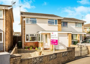 Thumbnail 3 bed semi-detached house for sale in Tarbot Hey, Moreton, Wirral